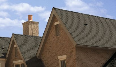 Landmark Solaris GOLD roofing shingles with cool roof technology