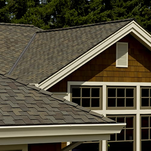 Types of asphalt shingles cj roofing for Types of shingles for roofing
